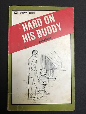 $50 • Buy Vintage Adult Gay Erotica Paperback Hard On His Buddy (Ss007)