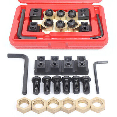 $46.16 • Buy 18x Eccentric 5/8  T-Slot Clamping Nut Set For CNC Milling Machine Work Table