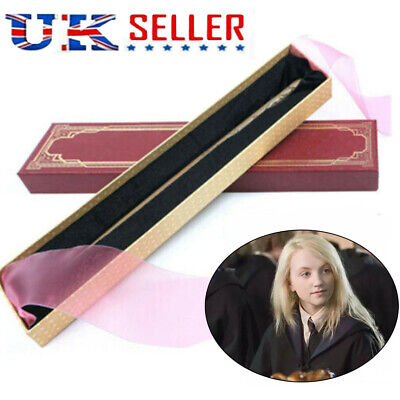 Harry Potter Luna Lovegood Magic Wand Cosplay Metal Magicl Stick Boxed Collect • 12.99£