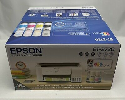 View Details Epson EcoTank ET-2720 All-in-One Wireless SuperTank Color Printer • 299.99$