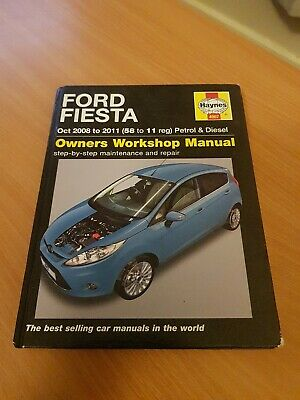 Haynes Ford Fiesta Petrol & Diesel Service And Repair Manual: 2008 To 2011 • 5.51£