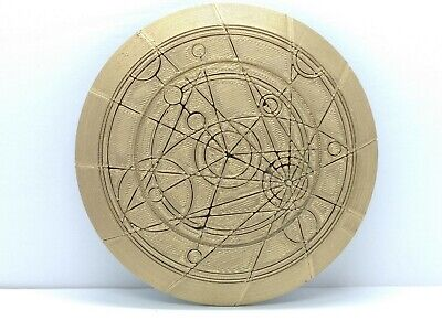 Doctor Who Confession Dial - Replica Prop Cosplay Dr Who Gallifreyan Time Lord • 14.49£