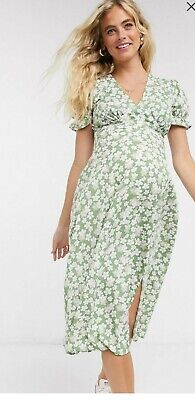 AU30 • Buy ASOS Maternity Pregnancy Floral Dress Size 14 New With Tags Influence Brand