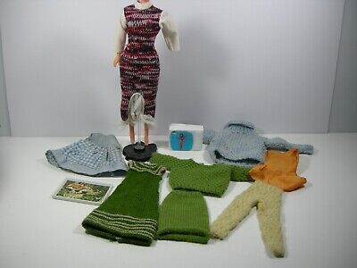 AU29.99 • Buy Vintage Barbie Doll Clothing MATTEL 1960/70s Possibly SINDY Clothing Bulk Lot