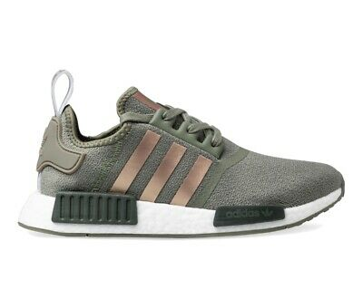 AU100 • Buy Women Adidas NMD_R1 Runners- Green And Bronze Size 5 RRP $200