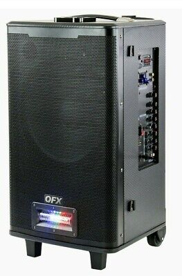 $ CDN247.95 • Buy QFX PBX-125 Rechargeable Party Line Array Column Bluetooth Speaker With A Twist