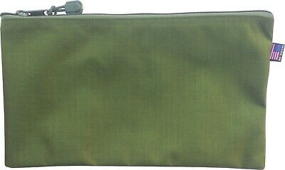 $8 • Buy  Military Green 7  Pouch Cordura Zipper Tool Bag  7 X 12.5 Inches Made In USA