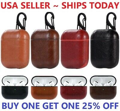 $ CDN7.53 • Buy New Leather Strap Holder Cover Accessories For Apple AirPods Pro Charging Case