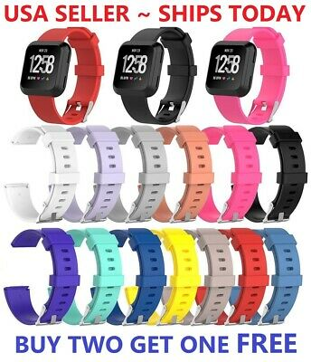$ CDN5 • Buy Replacement Silicone Rubber Classic Band Strap Wristband For Fitbit Versa Watch