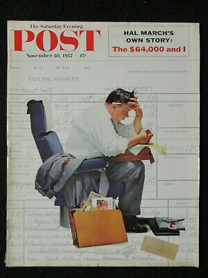 $ CDN18.73 • Buy Vintage Saturday Evening Post  November 30, 1957 Norman Rockwell Cover