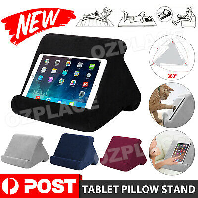 AU12.95 • Buy Tablet Pillow Stand For IPad Phone Reading Bracket Holder Cushion Pad Portable