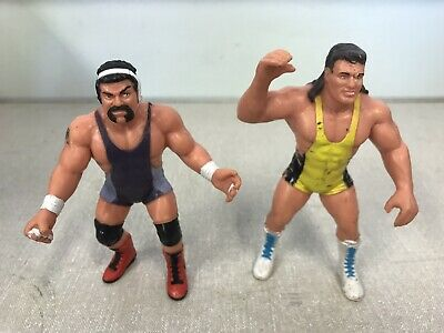 $ CDN18.98 • Buy WCW Galoob Scott & Rick Steiner Wrestling Brothers Figure X 2 1990 WWE WWF