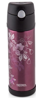 AU26.72 • Buy Thermos 530mL Stainless Steel Insulated Bottle - Floral Magenta