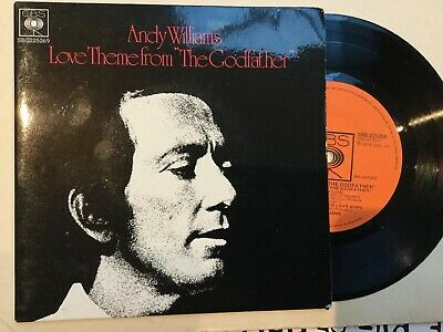 """£12.25 • Buy Andy Williams - Love Theme From  The Godfather"""" Rare Australian EP: Free UK Post"""