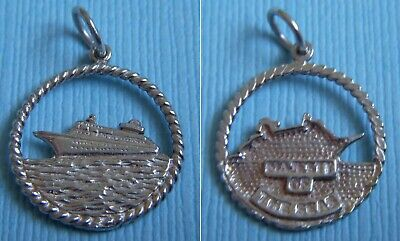 $29.99 • Buy  Vintage Majesty Of The Seas Cruise Ship Sterling Charm
