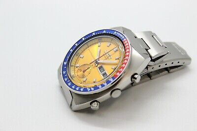 $ CDN1213.14 • Buy Seiko Pogue 6139-6002 Yellow Gold Water70m Resist Dial With Full Length H-links