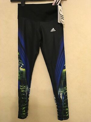 £19.99 • Buy Women's ADIDAS Techfit Climate Medium Compression Running/Gym Tights Size XS 4 6