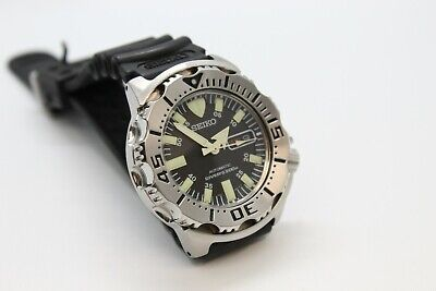 $ CDN462.85 • Buy First Generation Seiko Monster Black Dial  Original Condition And Rubber Band