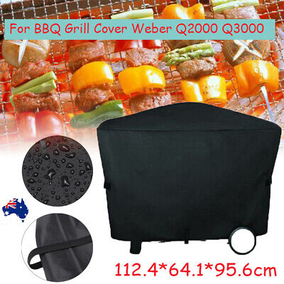 $ CDN19.72 • Buy BBQ Grill Full Cover For Weber Q3000 Q2000 Outdoor Waterproof Protector *