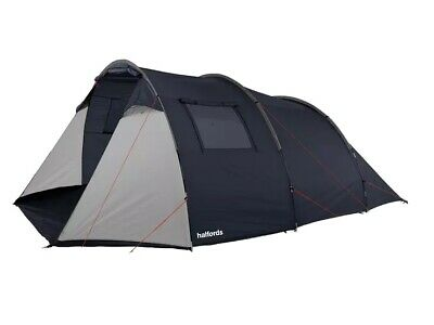Halfords 6 Person  Tunnel Tent 2 Rooms Large Family Tent  • 40£