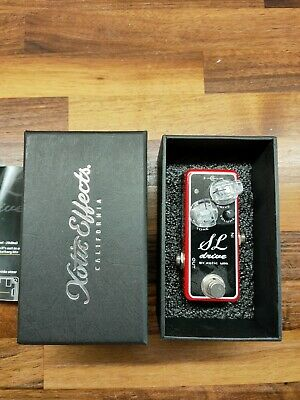 Xotic Effects SL Drive Ltd Edition Red BOXED + MINT CONDITION • 68£
