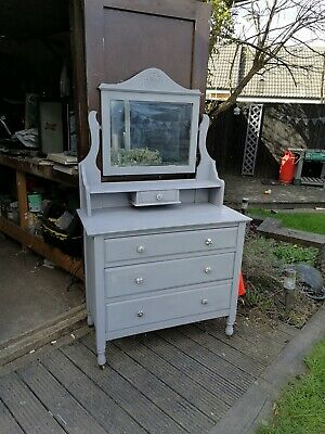 Vintage Upcycled Dresser Drawers Furniture Shabby Chic • 100£