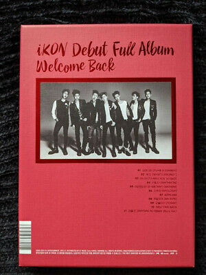IKON Debut Full Album Welcome Back Donghyuk Photocards (Preowned) • 8.08£