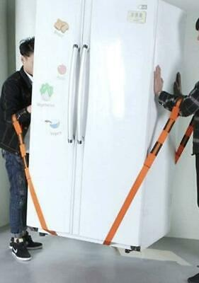 AU17.41 • Buy Moving Straps For Lifting Furniture Appliances & Essentials Carry Lift Strap 2