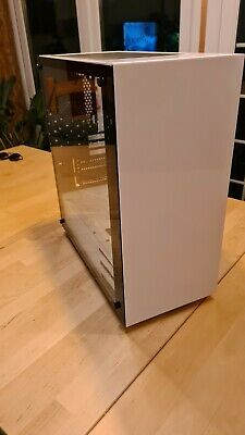 White Kolink Stronghold Midi-Tower PC Case With Glass Side Window  • 26£