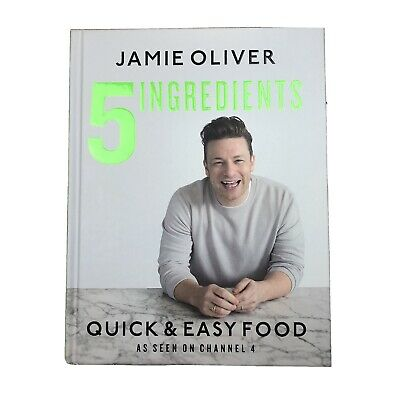 AU25.50 • Buy 5 INGREDIENTS QUICK AND EASY FOOD Jamie Oliver Hardcover In Excellent Condition
