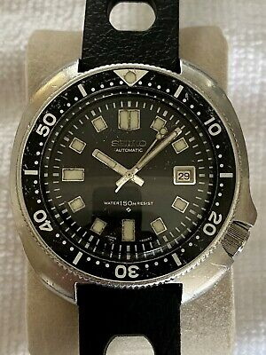 $ CDN1221 • Buy Seiko 6105-8110 Vintage 'Willard' Diver Watch Automatic