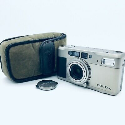 $ CDN382.08 • Buy [Exc+5] Contax T VS Zeiss Compact 35mm Point And Shoot Film Camera #131110