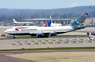 $4.46 • Buy British Airways  Nalanji Dreaming  Boeing 747 G-BNLN Seen  LGW UK 2000 Postcard