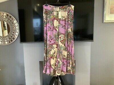 Ladies River Island Palazzo Trousers Size 16 • 12£