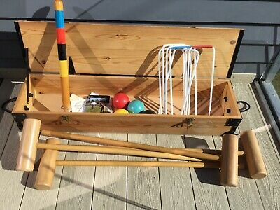Full Size Croquet Set used Condition • 83.88£