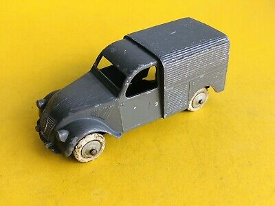 JRD Citroen 2cv Van With Box  Made In France.       Dinky • 9.50£