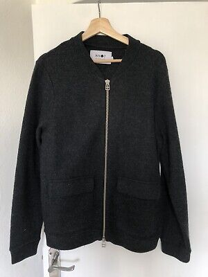 £40 • Buy NN07 Boiled Wool Bomber Jacket - Size Small