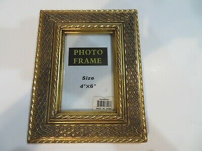 4  X 6   Picture Frame Solid Wood, Poster Frames -Heavy Ornate Detailed Molding • 21.82£