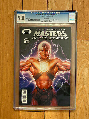 $399.99 • Buy Masters Of The Universe #1 Santalucia Variant Foil Cover CGC 9.8 RARE IMAGE