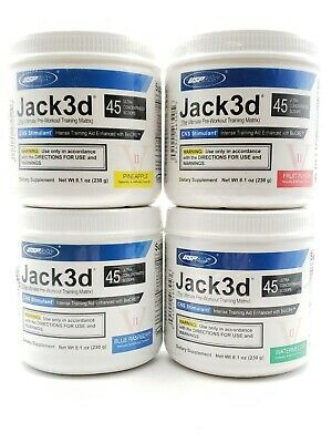 AU58.98 • Buy Jack 248g 3D Ultimate Pre-Workout Training Matrix Powder CNS Stimulant USP Labs