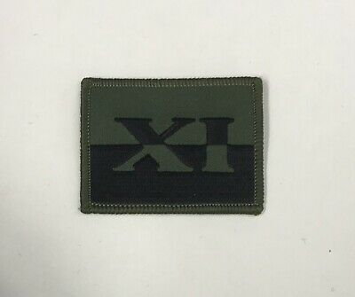 £2 • Buy 11 Signal Brigade Subdued Badge Royal Signals, Green Army Military Patch TRF
