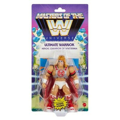 $20 • Buy MOTU Masters Of The WWE Universe ULTIMATE WARRIOR Figure Mattel Origins MOC
