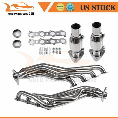 $198.29 • Buy FOR Ford 2002 F-150 Stainless Steel Racing Header Manifold Exhaust V8 SOHC