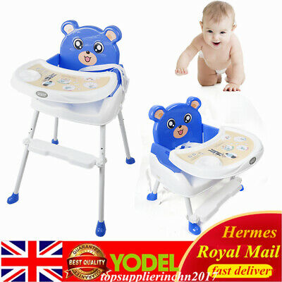 £25 • Buy 4 IN 1 Baby High Chair Recline Feeding HighChair Height Adjustable Safe Chair UK