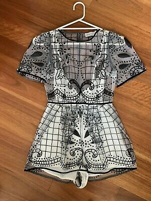 AU80 • Buy Alice McCall Noise Playsuit BNWT Black ** Size 6