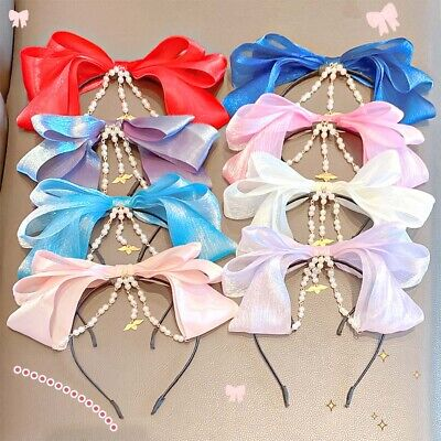 $ CDN5.60 • Buy Hairbands For Girls Hair Band Children Hair Hoops Hair Accessories Headwear