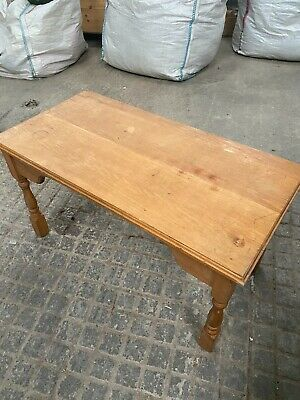 £20 • Buy Wooden Coffee Table Large DIY Secondhand