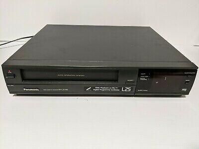 AU90 • Buy Panasonic NV-L25 HQ Video Player VCR VHS With Remote - Tested And Working NTSC