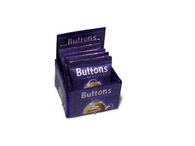 £3.99 • Buy  Dolls House Miniature Cadburys Buttons Shop-confectionery-food-1:12 Scale