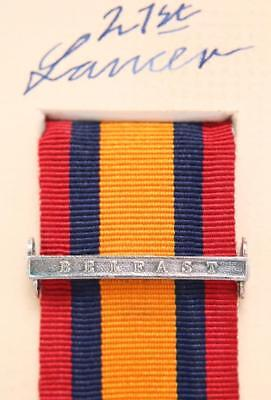 AU15.12 • Buy Qsa Queens South Africa Medal Ribbon Bar Clasp Belfast Boer War Campaign